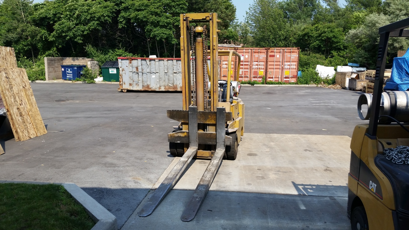 Yale Gas Forklift manual
